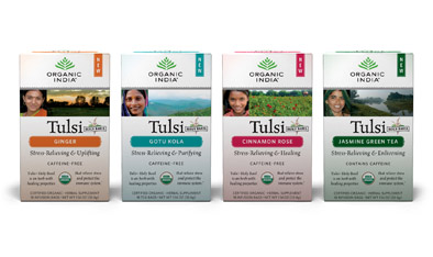 Organic Boxed Tulsi Tea & Infusions