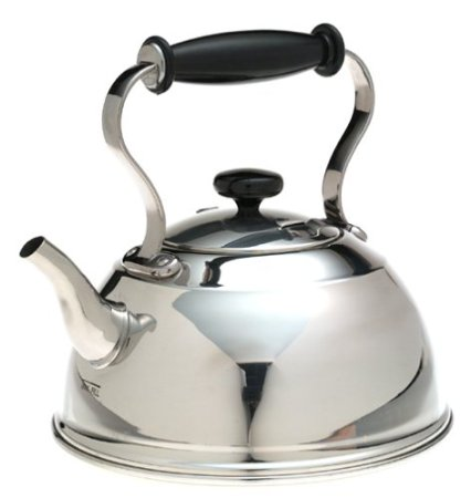 Copco Cambridge Stainless-Steel Whistling Teakettle