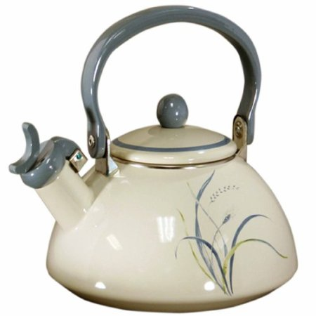Corelle Coordinates Coastal Breeze Whistling Tea Kettle