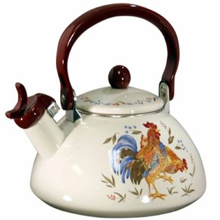 Corelle Coordinates Country Morning Whistling Teakettle
