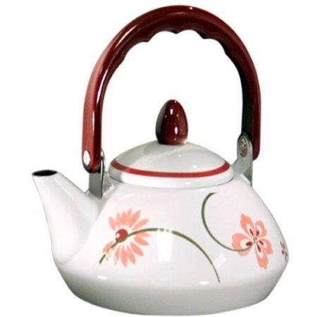 Corelle Coordinates Pretty Pink Tea Kettle