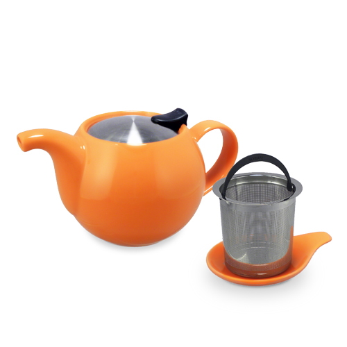 ForLife Q Teapot With Basket Infuser