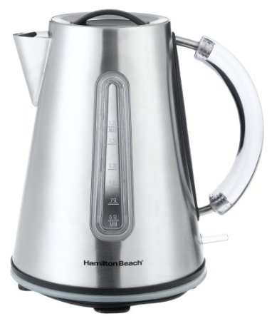 Hamilton Beach Electric Stainless-Steel Teakettle