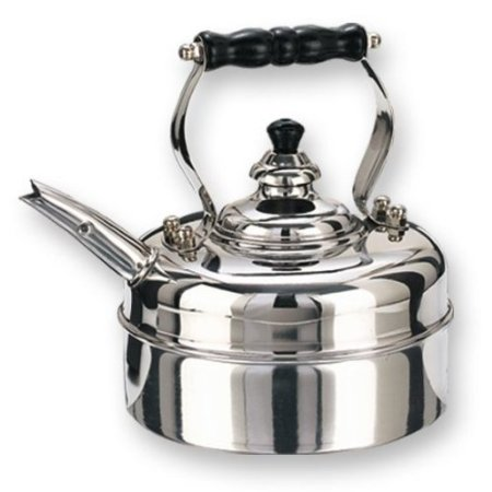Old Dutch 3 Quart Stainless Steel Windsor Whistling Teakettle