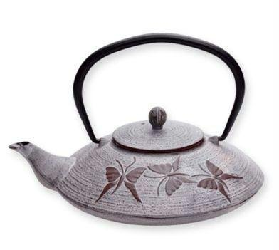 Old Dutch Dusty Plum Cast Iron Felicity Teapot