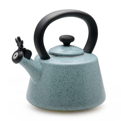 Paula Deen Signature Teakettles 2-Quart Enamel on Steel Whistling Kettle