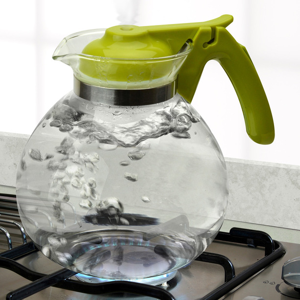 Tea Kettle Glass